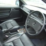 1989 Mercedes Benz 190E LTD interior
