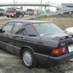 1989 Mercedes Benz 190E LTD rear