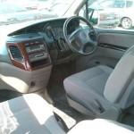 2001 Nissan Elgrand interior rear seat front seat