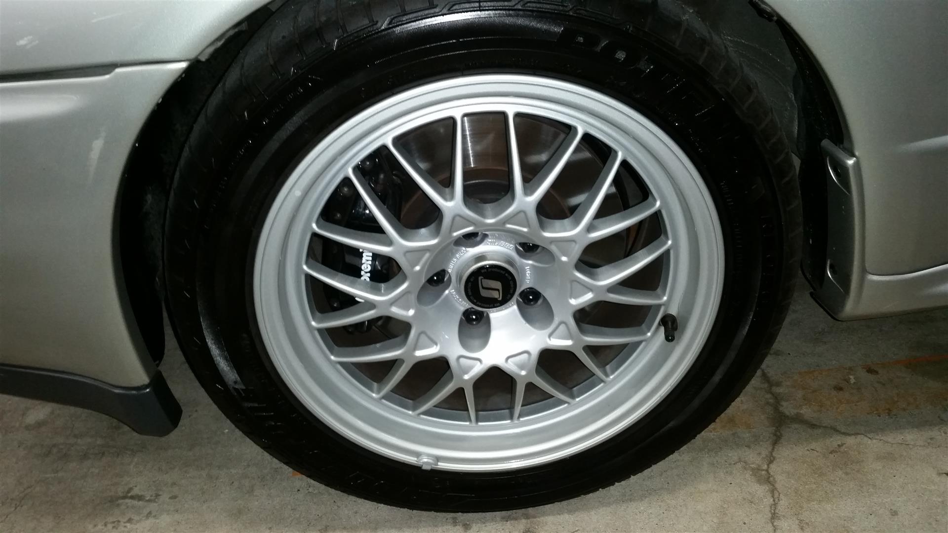 R32 GTR VSpec2 BBS alloys