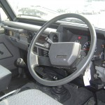 Landcruiser BJ74 interior
