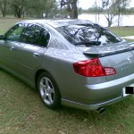 2003 Nissan Skyline V35 350GT-8 Premium sedan rear