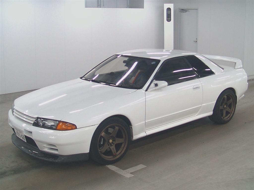 1993 nissan skyline r32 gtr front