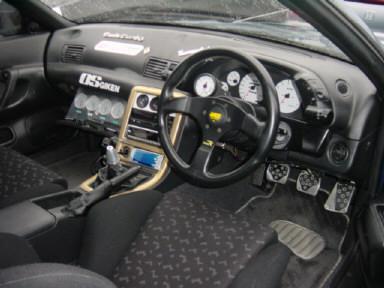 1992 Nissan Skyline R32 GTR MODIFIED interior