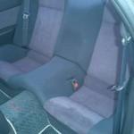1993 Nissan Skyline R32 GTR reat seats