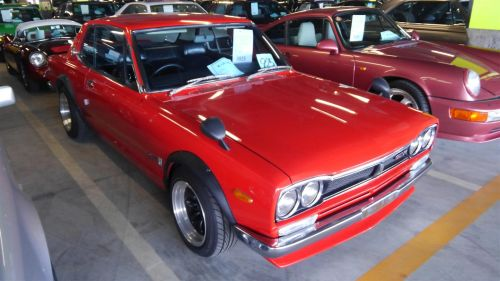 1971 Nissan Skyline KGC10 coupe GT-X front right