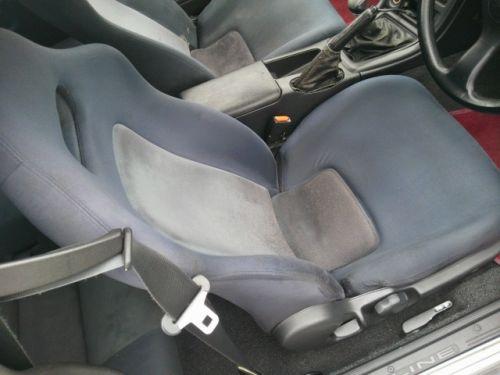 1992 Nissan Skyline R32 GTR silver driver seat