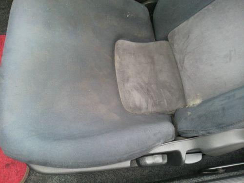 1992 Nissan Skyline R32 GTR silver passenger seat closeup
