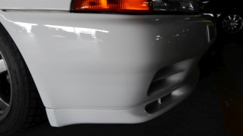 1993 R32 GTR with NISMO Fine Spec engine 2009 front bumper scratches
