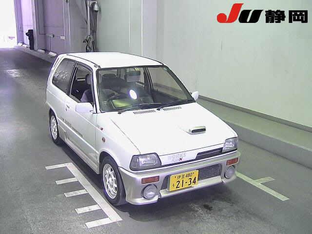 1988 SUZUKI ALTO Works white front