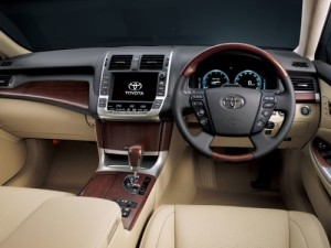 2009 Toyota Crown Majesta interior 5