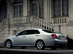 2009 Toyota Crown Majesta silver