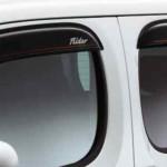 Nissan Cube Z12 AUTECH Rider Black Line plastic visor