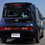 Nissan Cube Z12 AUTECH Rider Black Line rear on