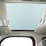 Nissan Cube Z12 interior glass sunroof