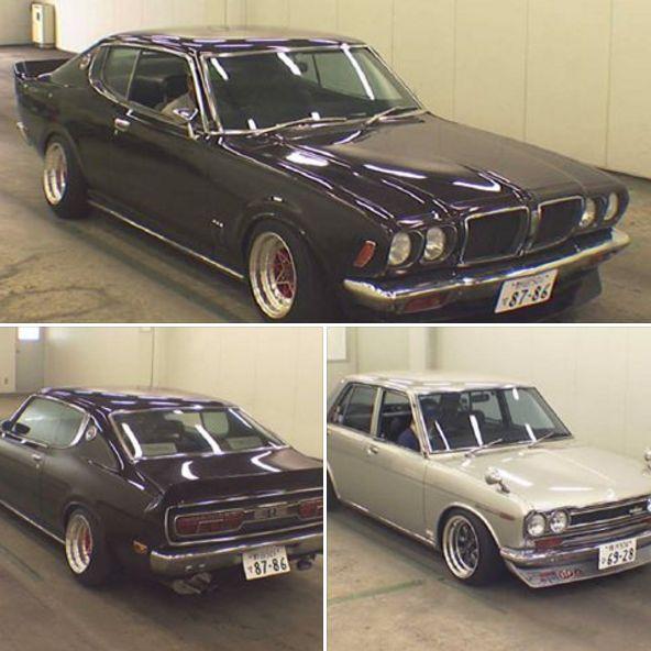 Japanese classic car Bluebird Examples