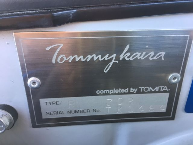 1994 Nissan Skyline R32 GT-R Tommy Kaira Special Edition Tommy Kaira Build plate