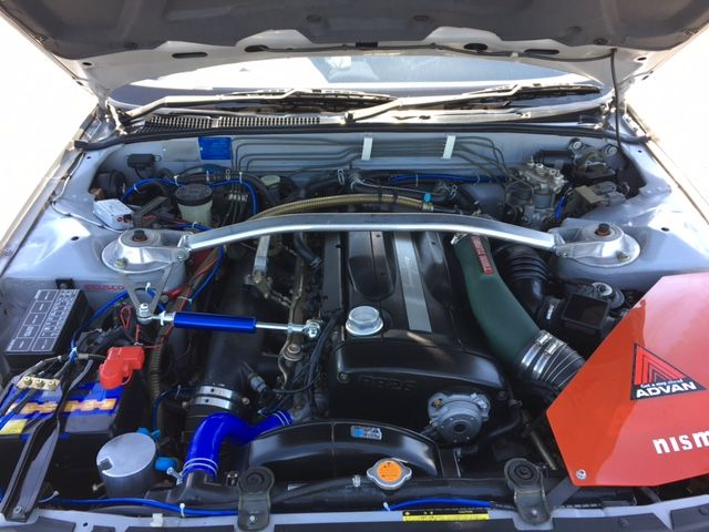 1994 Nissan Skyline R32 GT-R Tommy Kaira Special Edition engine 10