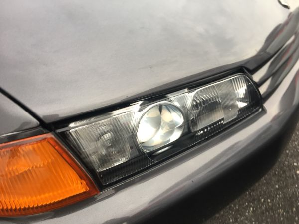 1990 Nissan Skyline R32 GT-R headlight