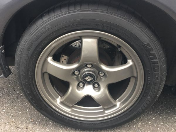 1990 Nissan Skyline R32 GT-R wheel 3