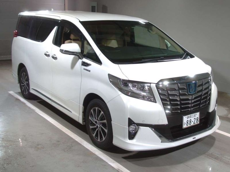 2017 Toyota Alphard Hybrid Executive Lounge auction front