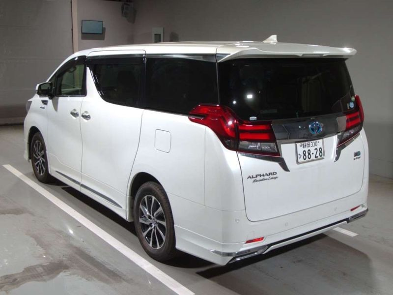 2017 Toyota Alphard Hybrid Executive Lounge auction rear