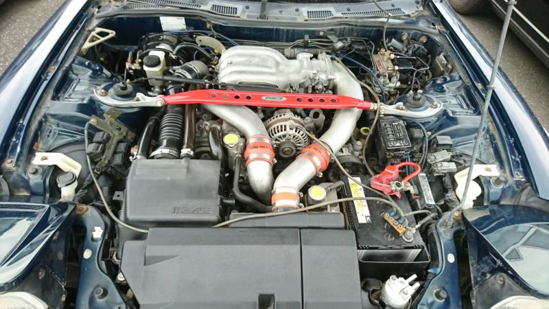 1992 Mazda RX-7 turbo engine