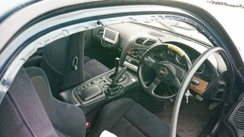1992 Mazda RX-7 turbo interior