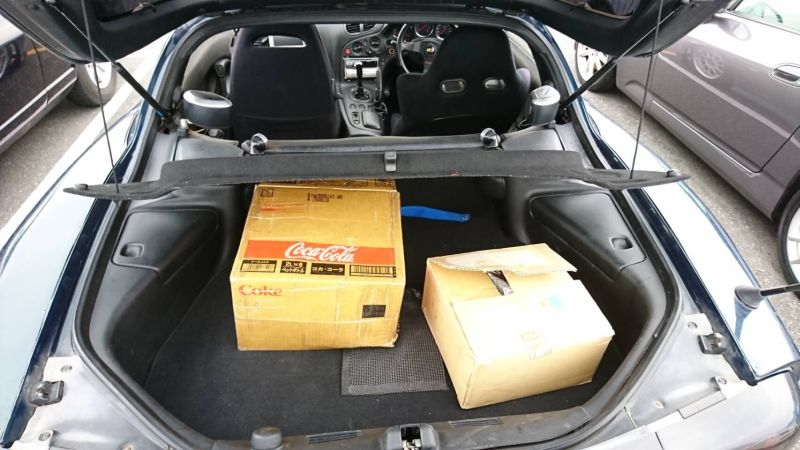 1992 Mazda RX-7 turbo parts 2