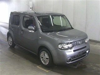 2015 Nissan Cube Z12 Welfare Sloper auction right front