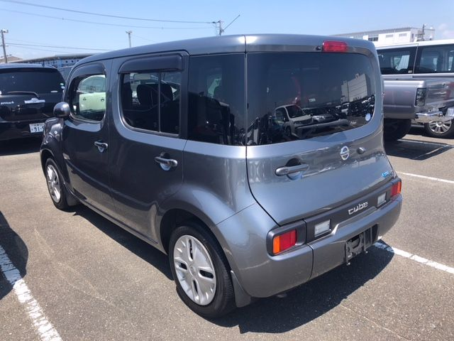 2015 Nissan Cube Z12 Welfare Sloper left rear