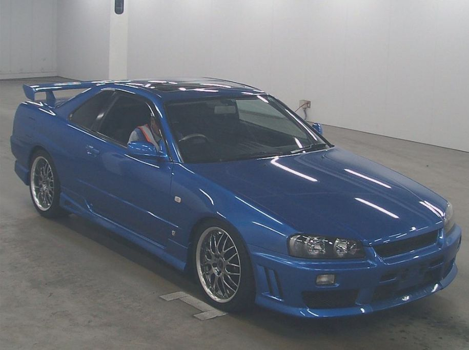 2001 Nissan Skyline R34 GT-T right front