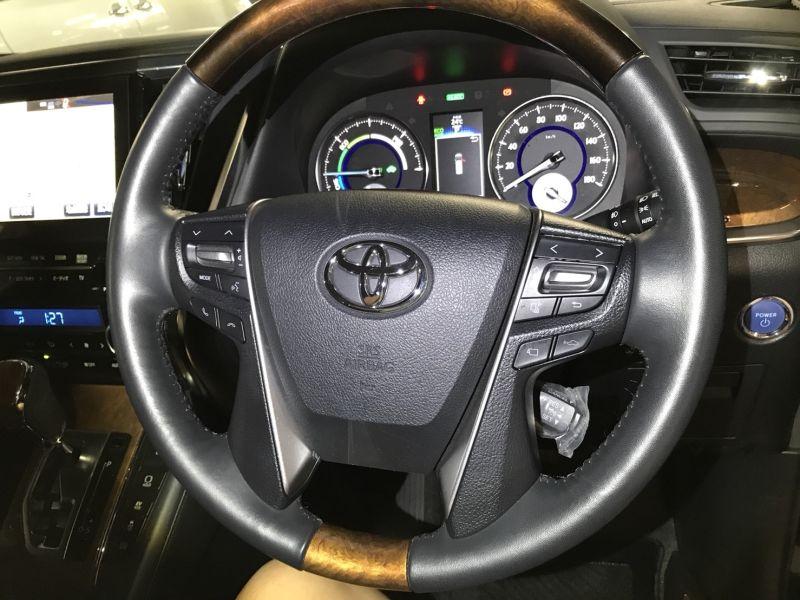 2015 Toyota Alphard Hybrid Executive Lounge cruise control