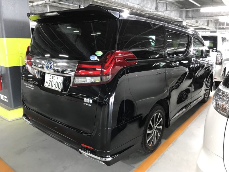 2015 Toyota Alphard Hybrid Executive Lounge right rear
