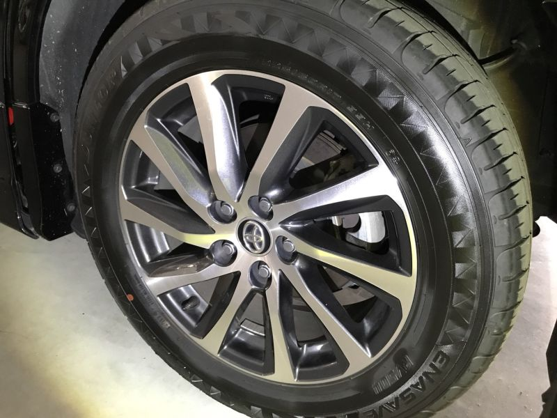 2015 Toyota Alphard Hybrid Executive Lounge wheel 2