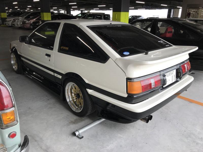 1985 Toyota Corolla Levin GT APEX left rear