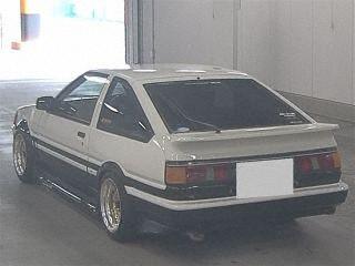 1985 Toyota Corolla Levin GT APEX rear