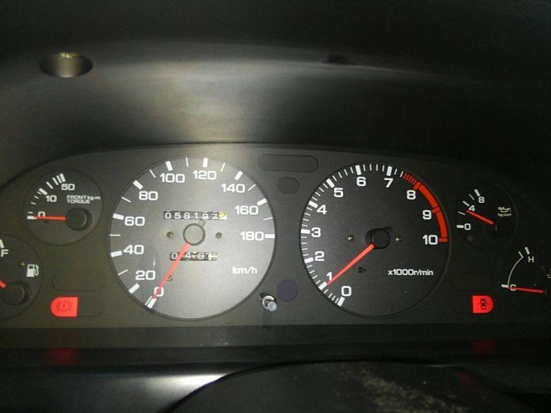 1992 Nissan Skyline R32 GTR dash low km
