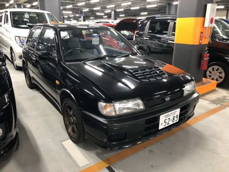 1994 Nissan Pulsar GTiR right front auction