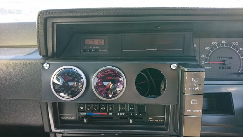 1987 NISSAN SKYLINE GTS-R gauges
