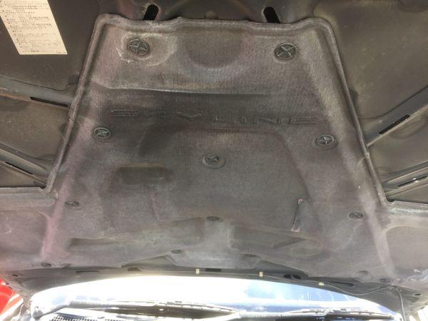1990 Nissan Skyline R32 GTR bonnet heat treatment